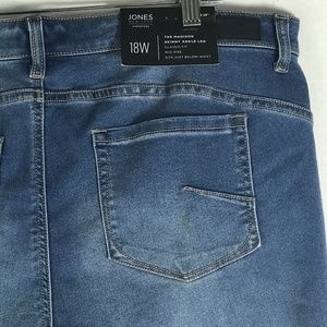 Jones of New York The Madison Skinny Ankle Jeans
